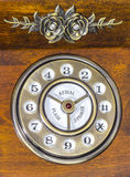 Vintage phone dial Royalty Free Stock Image