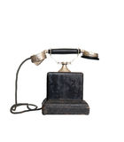 Vintage phone, isolated Royalty Free Stock Images
