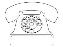 Vintage phone Royalty Free Stock Image