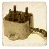 Vintage Phone Plug. VIntage Telephone Plug Stock Photography