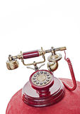 Vintage phone set Royalty Free Stock Photos