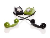 Vintage phones Stock Image