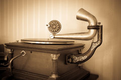 Vintage Phonograph Stock Photography