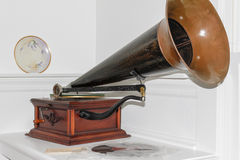 Vintage Phonograph Stock Image