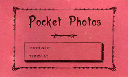 Vintage Photo Royalty Free Stock Image