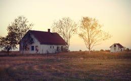 Vintage photo of abandoned house Royalty Free Stock Photo