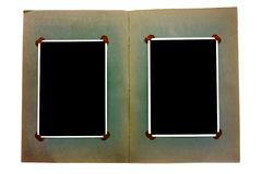 Vintage photo album Royalty Free Stock Image