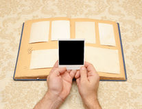 Vintage photo album Royalty Free Stock Photos