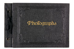 Vintage photo album Stock Image