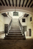 Vintage photo of ancient castle interior Royalty Free Stock Images