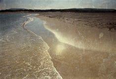 Vintage photo of  beach Royalty Free Stock Photo