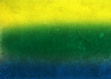 Vintage photo of Brazil flag Stock Photo