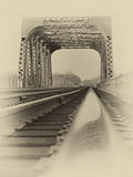 Vintage Photo of a Bridge Royalty Free Stock Image