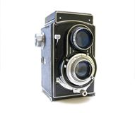 Vintage Photo Camera. Old Photo Camera isolated on white background Stock Photography