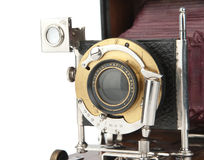 Vintage photo camera Stock Photos