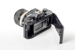 Vintage photo camera  :Clipping path included Stock Photos