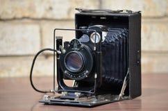 Vintage photo camera FOTOKOR-1 royalty free stock images