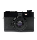 Vintage photo camera. Isolated on white background Royalty Free Stock Photography