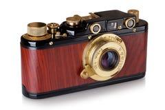 Vintage photo camera. Royalty Free Stock Photography
