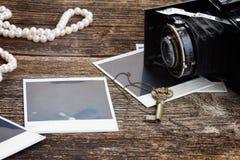 Vintage  photo camera Royalty Free Stock Photo