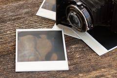 Vintage  photo camera Stock Photos