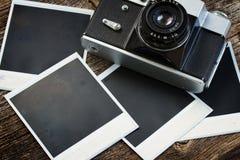 Vintage  photo camera Stock Photography