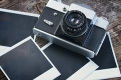 Vintage  photo camera Royalty Free Stock Photos