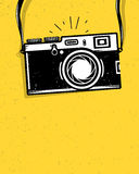 Vintage photo camera Stock Images