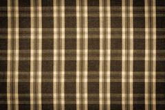 Vintage photo, checkered shirt as background texture Stock Image