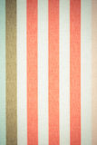 Vintage photo, Colorful striped tablecloth as background Stock Photos