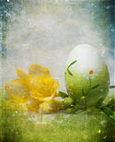 Vintage photo of Easter eggs Royalty Free Stock Photos