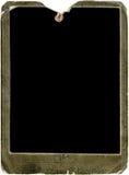 Vintage photo frame. Vintage rusted photo frame isolated on white background Royalty Free Stock Photo