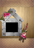Vintage Photo frame Royalty Free Stock Photography