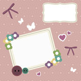 Vintage photo frame Royalty Free Stock Images