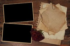 Vintage Photo Frame Stock Photo