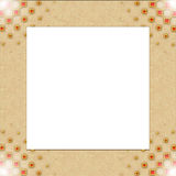 Vintage photo frame with classy patterns Royalty Free Stock Photo