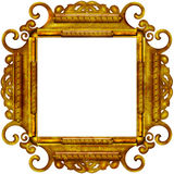 Vintage photo frame with classy patterns Royalty Free Stock Photos