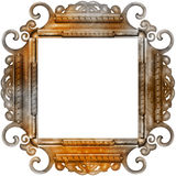 Vintage photo frame with classy patterns Stock Photos