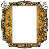 Vintage photo frame with classy patterns Royalty Free Stock Photography