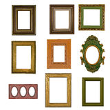 Vintage photo frame collection Royalty Free Stock Photos