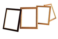 Vintage photo frame by isolated. Vintage photo frame by isolated on white background Royalty Free Stock Photos