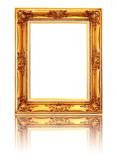 Vintage photo frame isolated on white Royalty Free Stock Photos