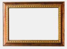Vintage photo frame isolated on white background Royalty Free Stock Photos
