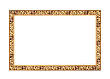 Vintage photo frame isolated on white background Royalty Free Stock Photography