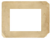 Vintage Photo Frame Old Grungy Texture Background Stock Photos