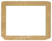 Vintage Photo Frame Old Grungy Texture Background Stock Photography