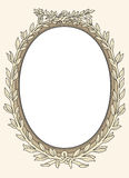 Vintage photo frame ornamental  Royalty Free Stock Photos