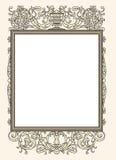Vintage photo frame ornamental vector illustration