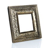 Vintage photo frame. On white background Stock Photos