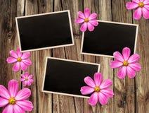 Vintage photo frames Stock Image